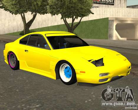 Nissan S330SX Japan SHK style for GTA San Andreas