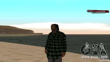 New skin Grove HD for GTA San Andreas third screenshot