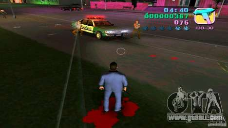 The flowing of the blood for GTA Vice City third screenshot