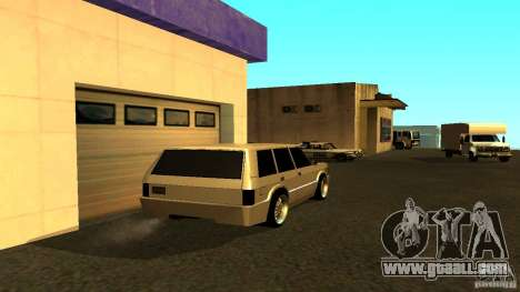 Huntley Sport for GTA San Andreas back left view