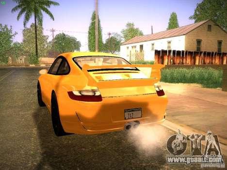 Porsche 911 for GTA San Andreas back view