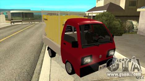 Suzuki Carry 4wd 1985 Lipigas for GTA San Andreas back view