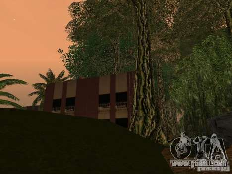 The mystery of the tropical islands for GTA San Andreas seventh screenshot