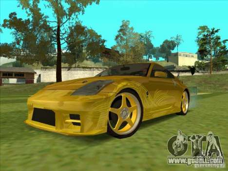 Nissan 350Z MORIMOTO from FnF 3 for GTA San Andreas