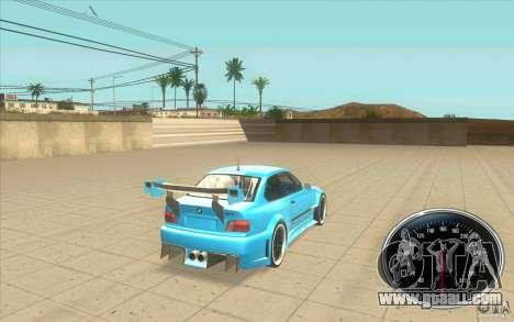 Speedometer v2 for GTA San Andreas