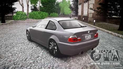 BMW 3 Series E46 v1.1 for GTA 4 back left view