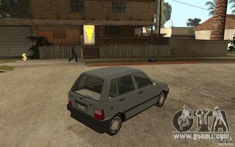Fiat Uno 70s for GTA San Andreas right view