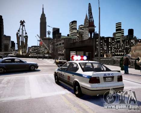 Russian Police Patrol for GTA 4 back left view