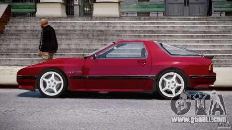 Mazda RX7 FC3S v2 FINAL for GTA 4 left view