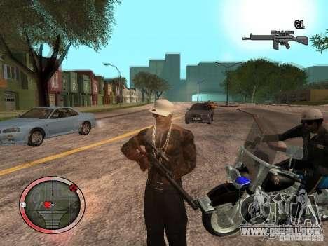GTA IV HUD Final for GTA San Andreas third screenshot