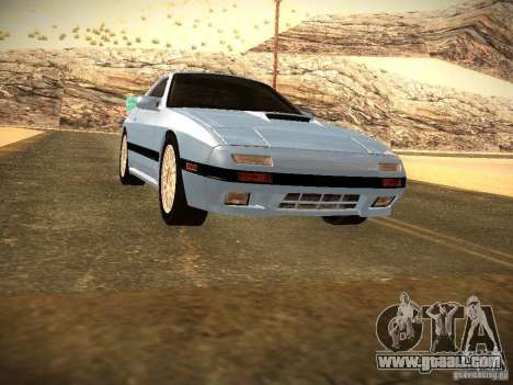 Mazda RX-7 FC3S for GTA San Andreas right view