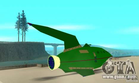 Planet Express for GTA San Andreas