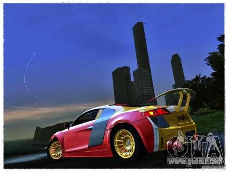 Audi R8 Calibri-Ace for GTA San Andreas back left view