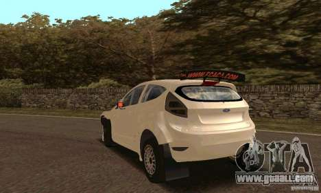 Ford Fiesta Rally for GTA San Andreas side view