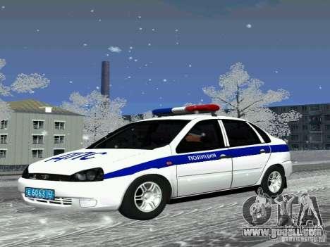 VAZ 1118 DPS for GTA San Andreas