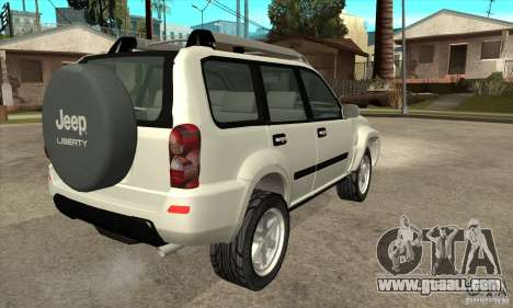 Jeep Liberty 2007 for GTA San Andreas right view
