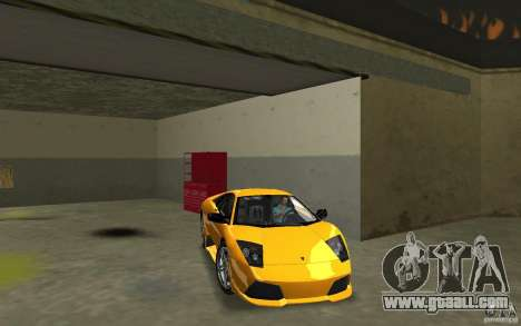 Lamborghini Murcielago LP640 for GTA Vice City back view