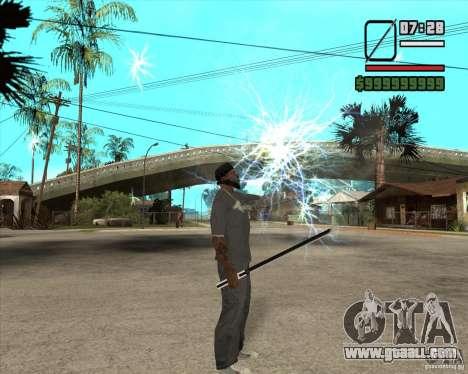 Sasuke sword for GTA San Andreas forth screenshot