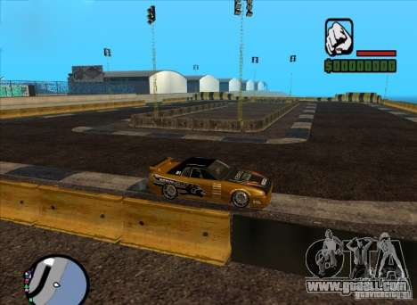 New track for drifting for GTA San Andreas second screenshot