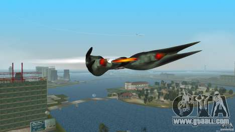 VX 574 Falcon for GTA Vice City left view