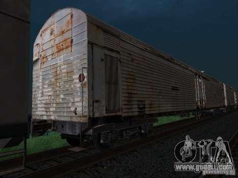 Refrežiratornyj wagon Dessau No. 7 for GTA San Andreas