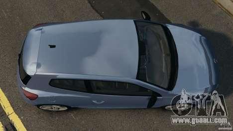 Volkswagen Scirocco R v1.0 for GTA 4 right view