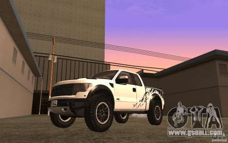 Ford F150 SVT RapTor for GTA San Andreas side view