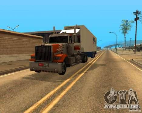 Western Star 4900EX v 0.1 for GTA San Andreas