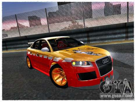 Audi RS4 Calibri-Ace for GTA San Andreas