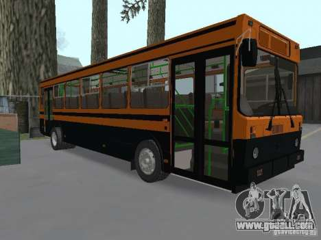 LIAZ 5256.25 for GTA San Andreas back left view