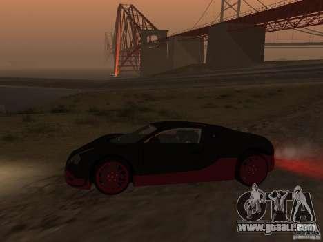 Bugatti Veyron Super Sport for GTA San Andreas right view