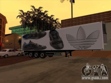 Trailer Adidas for GTA San Andreas inner view