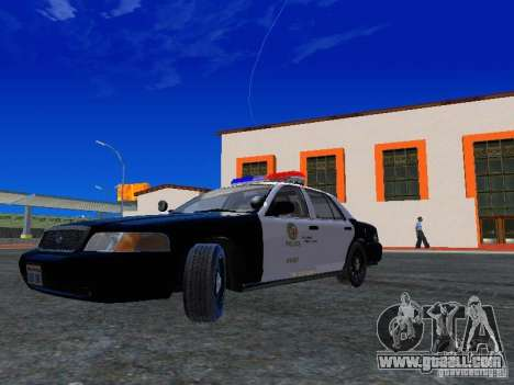 Ford Crown Victoria San Andreas State Patrol for GTA San Andreas left view