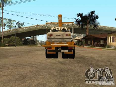 MAZ 54323 TOW TRUCK for GTA San Andreas back left view