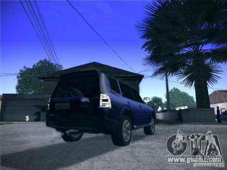 Mitsubishi Pajero for GTA San Andreas left view