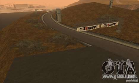 The route from NFS Prostreet for GTA San Andreas third screenshot