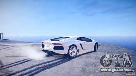 Lamborghini Aventador LP700-4 v1.0 for GTA 4 back left view