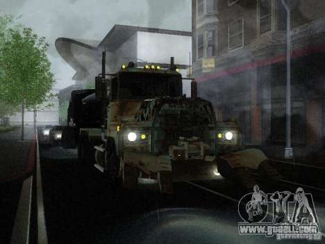 Armored Mack Titan Fuel Truck for GTA San Andreas