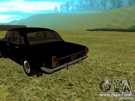 GAZ-24 Volga 01 for GTA San Andreas left view