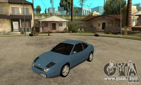 Fiat Coupe - Stock for GTA San Andreas