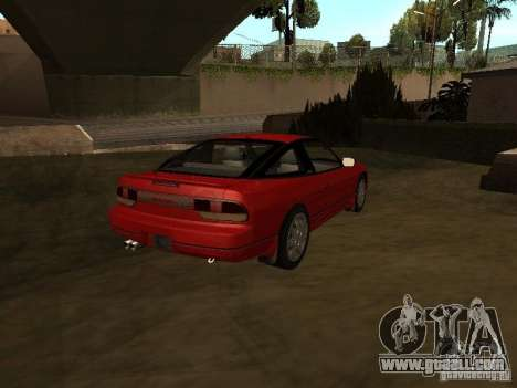 Nissan 240SX tunable for GTA San Andreas back left view
