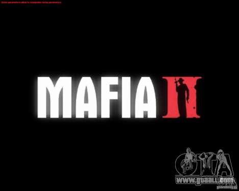 Loading screens of Mafia 2 for GTA San Andreas fifth screenshot