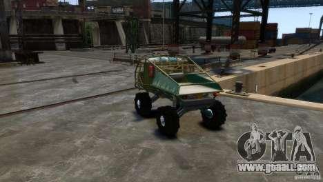 UAZ Goliath Prototype for GTA 4 right view