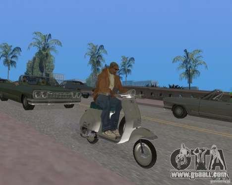 Vespa N-50 for GTA San Andreas right view
