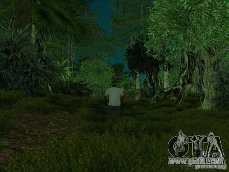 Tropical island for GTA San Andreas ninth screenshot