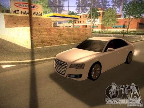 Audi A8 2010 for GTA San Andreas