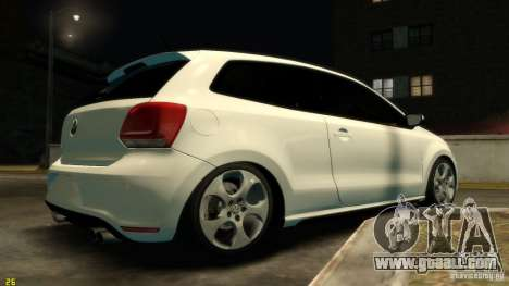 Volkswagen Polo v1.0 for GTA 4 right view