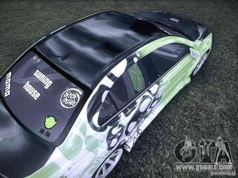 Mitsubishi Lancer Evolution X - Tuning for GTA San Andreas side view