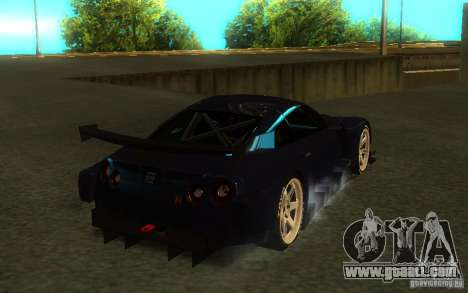 Nissan Skyline R35 GTR for GTA San Andreas side view