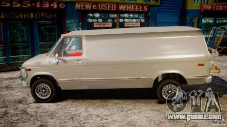 Chevrolet G20 Vans V1.1 for GTA 4 left view